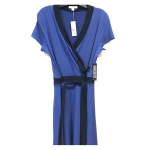 New with Tags Medium Blue Wrap Dress
